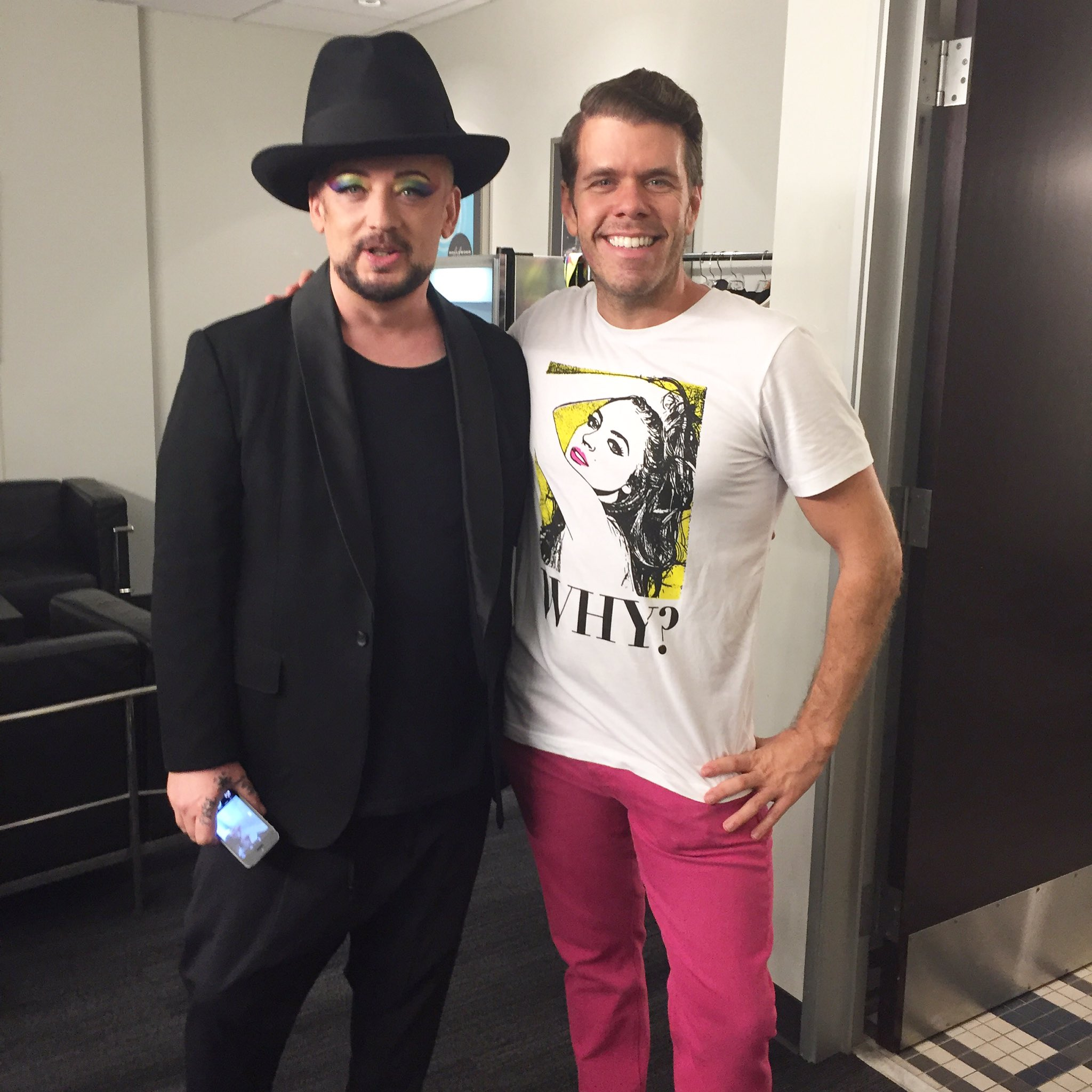 RT @ThePerezHilton: Legend! Thank you so much @BoyGeorge for your hospitality AND a shout-out on stage at the... https://t.co/zgiDzwHsFz ht…