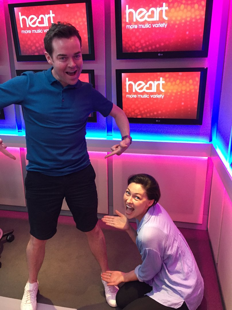 RT @thisisheart: We're BACK!!! And Stephen's got his legs out! @StephenMulhern @EmmaWillis #StephenAndEmma https://t.co/PZJ5nndWiz