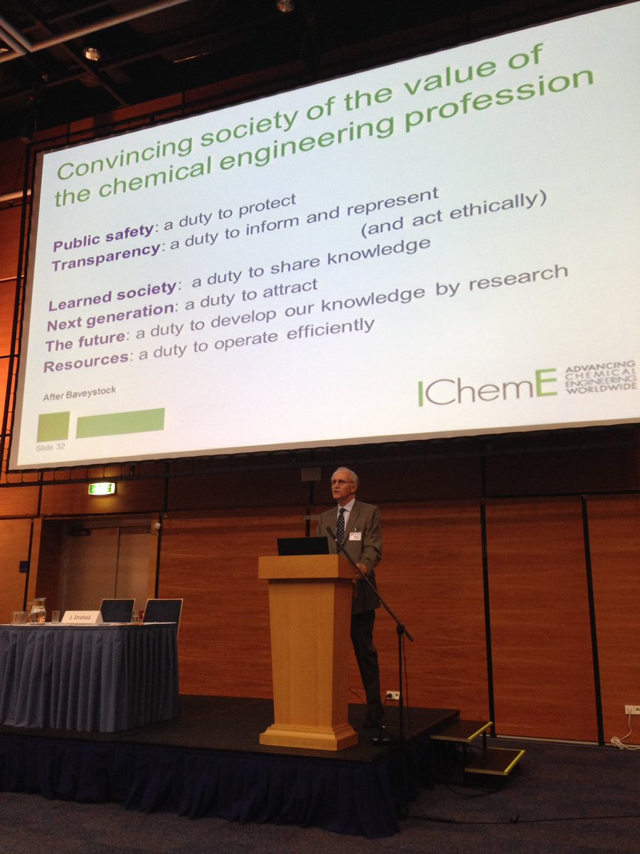 """Prof Seville """"energy, water, food, wellbeing, climate change - all these challenges need chem eng solutions"""" #CHISA https://t.co/cF91StT9Lq"""