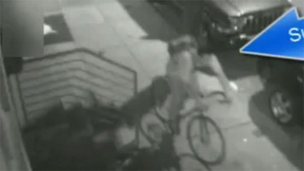 Police continue search for suspect groping woman in Philadelphia-