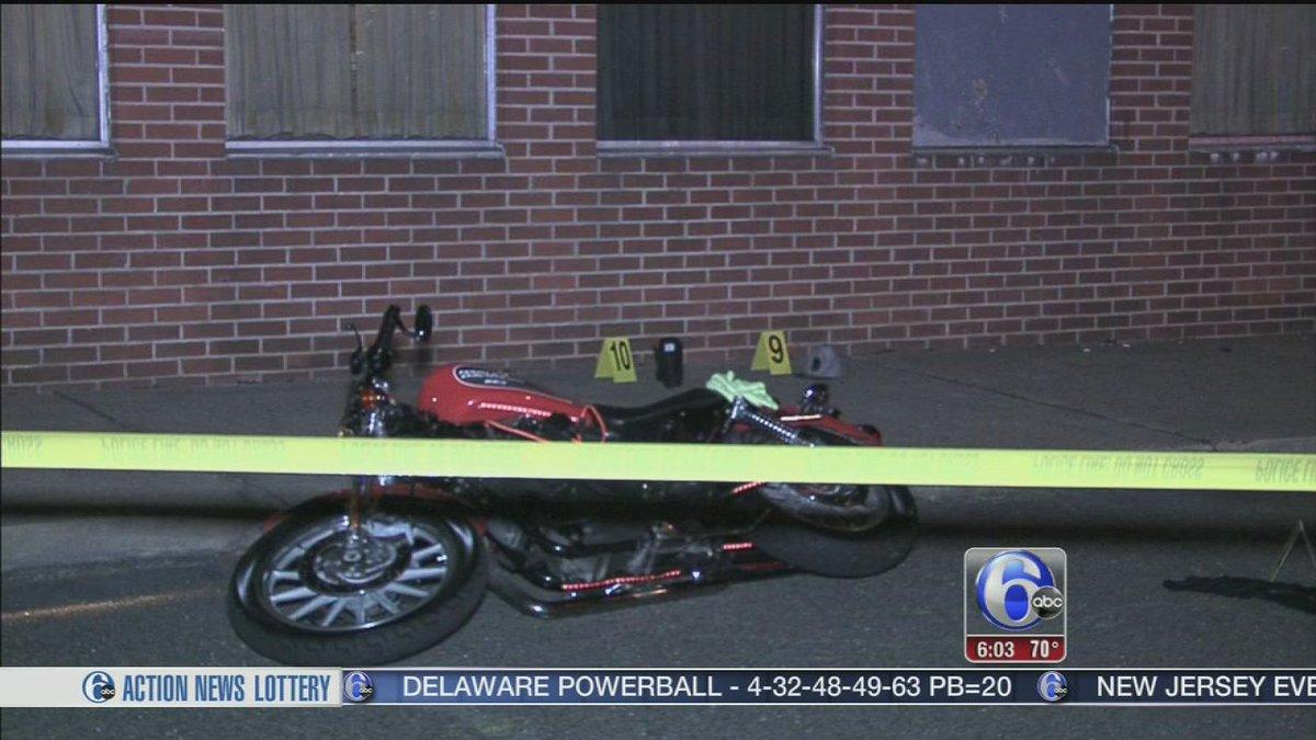 Motorcyclist shot in the head in Northeast Philadelphia-