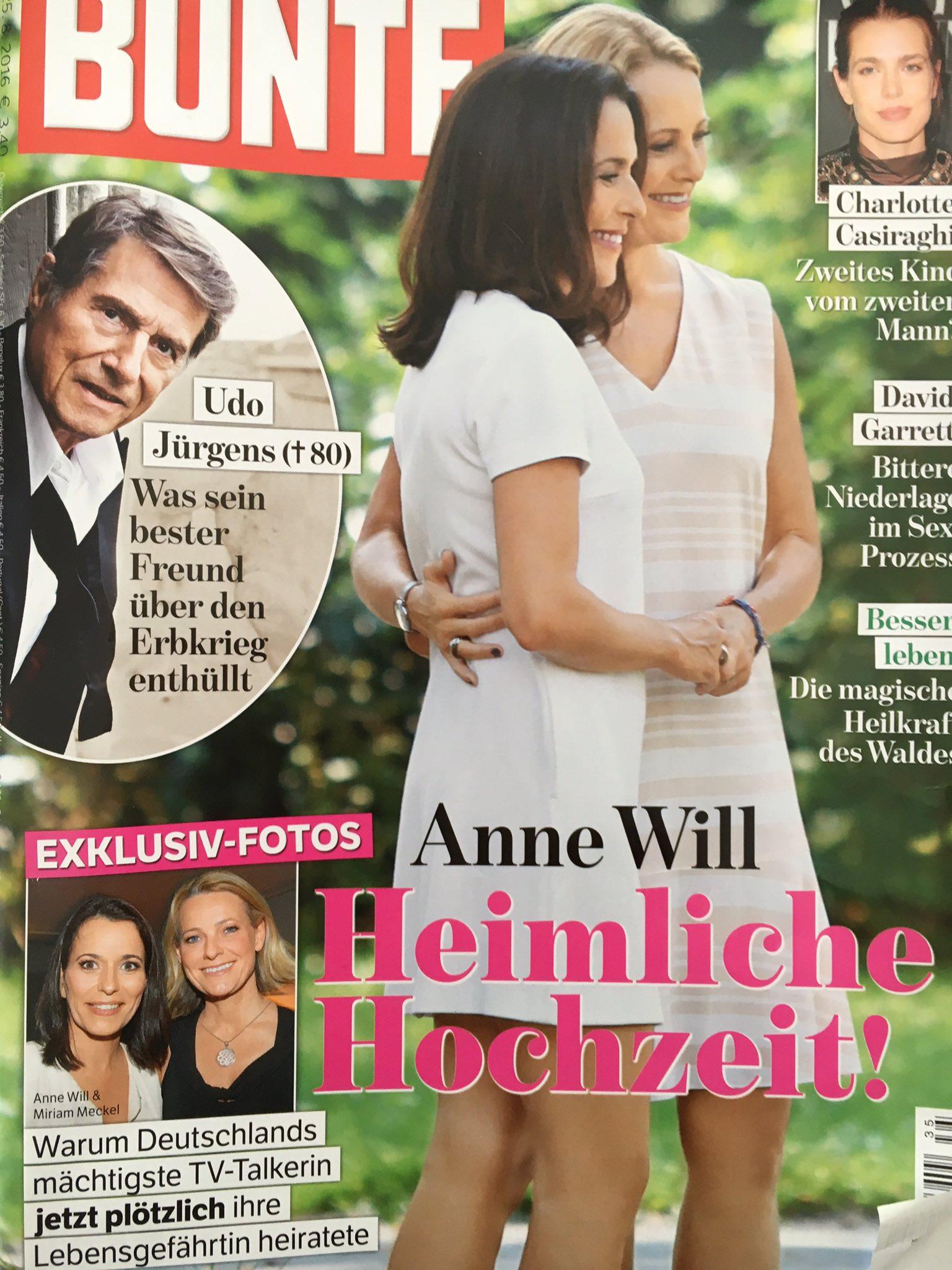 Claudia Boehnert On Twitter Annewill Und Miriammeckel Verheiratet Wir Gratulieren Ganz Herzlich Und Wunschen Alles Gute Bunte Wiwo Ard