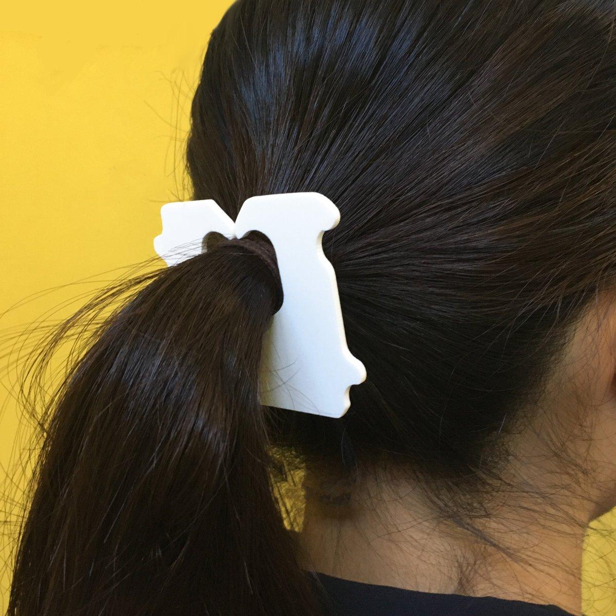 [デザインその他]簡単にパンの袋になれる髪留めを作りました[2016年8月28日]