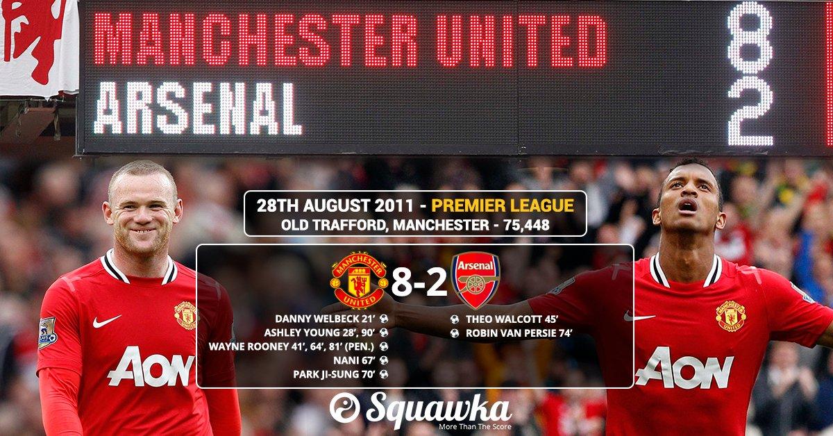Man Utd Vs Arsenal 8 2 Youtube Downloader