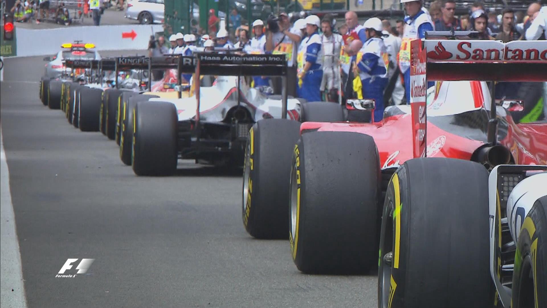 Las mejores imágenes del Gran Premio de Fórmula 1 Spa 2016