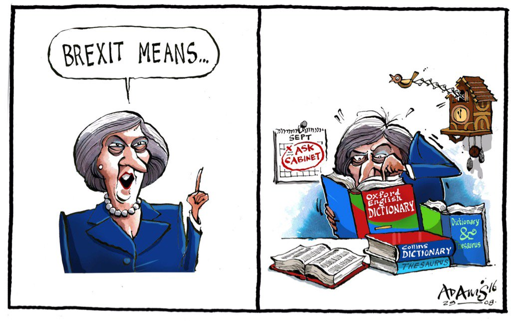 Image result for Theresa May CARTOON