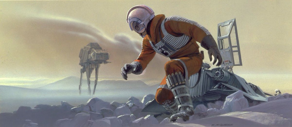 Ralph McQuarrie concept art for #SkywalkerSunday