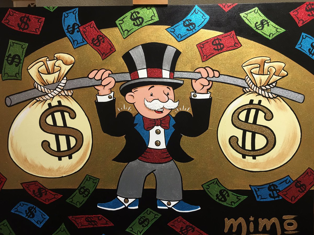 Mr Monopoly Money Bags  Wwwimgkidcom The Image Kid