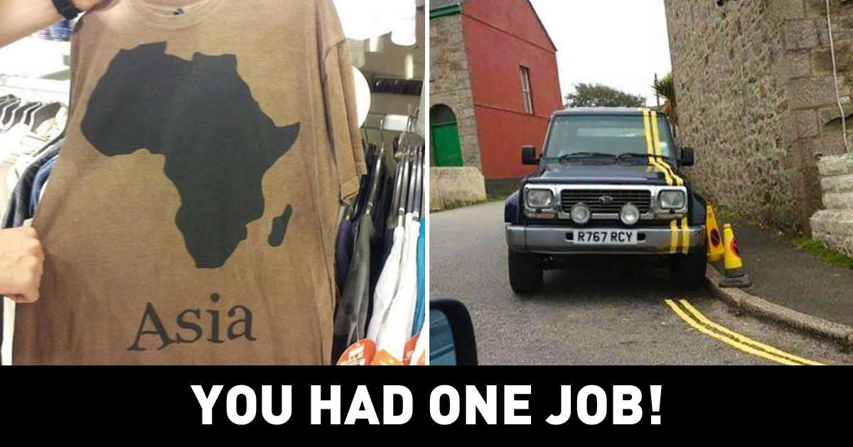 GAG On Twitter People That Had One Job And Still Failed - 27 people that had one job and still failed miserably