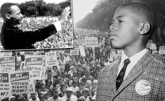 OTD in 1963 the March on Washington took place