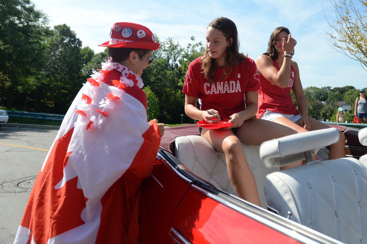 Penny Oleksiak has come home to the Beach