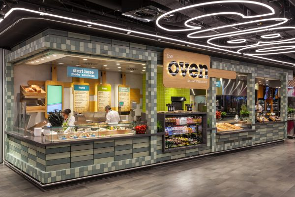 UXUS launched innovative food court concept Amsterdam