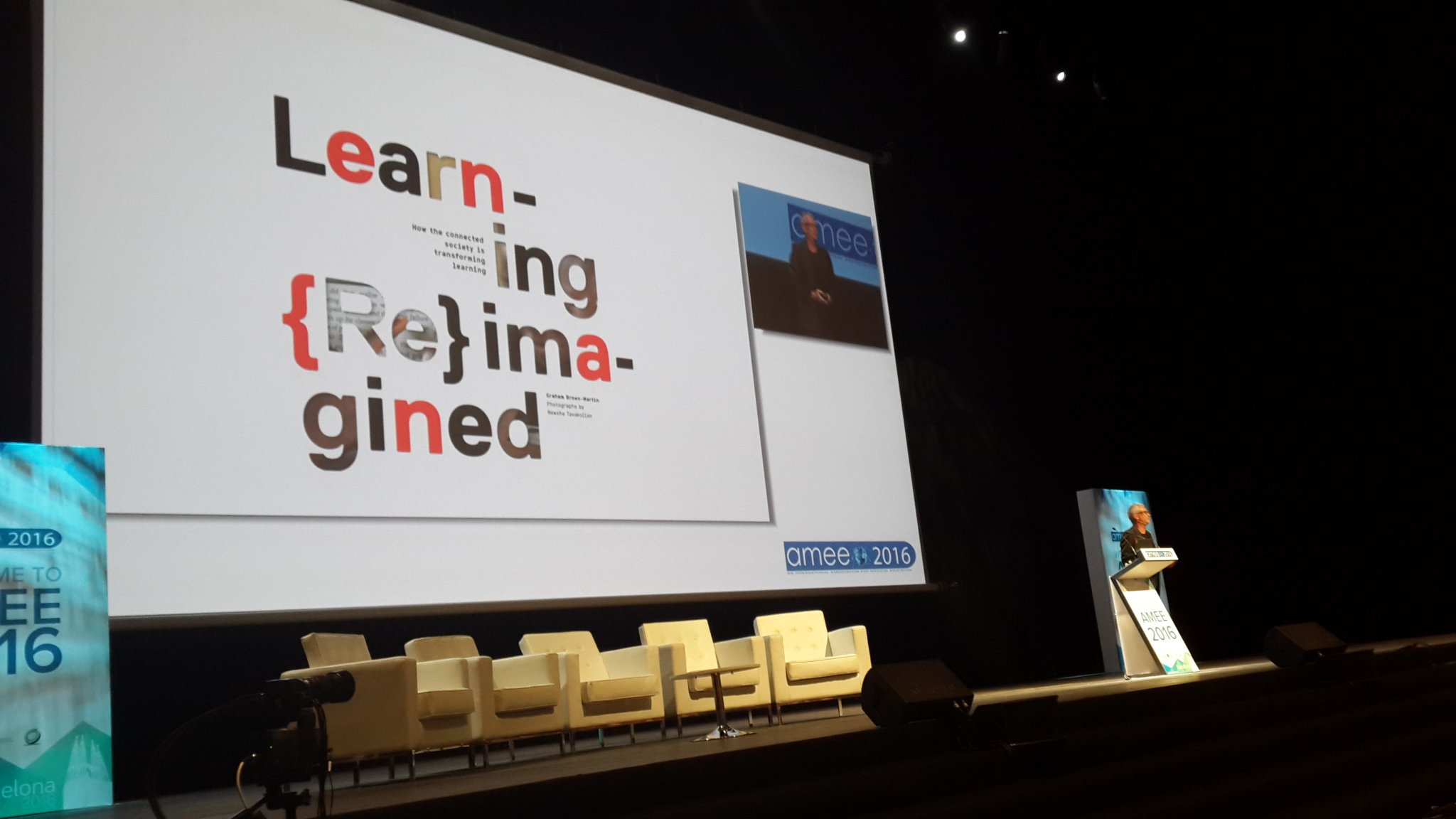 Graham Brown-Martin the first Plenary at #meded #amee2016. https://t.co/HYsMXpug6B