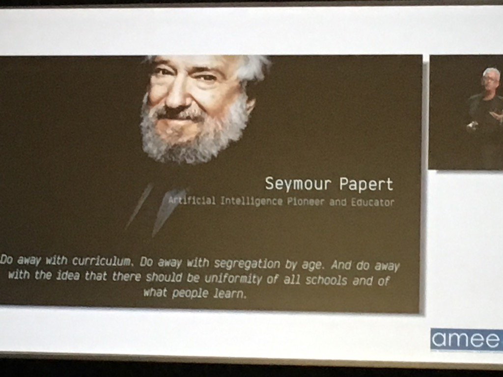 #inspire #sotrue #amee2016 @GrahamBM https://t.co/ObzrruJTq9