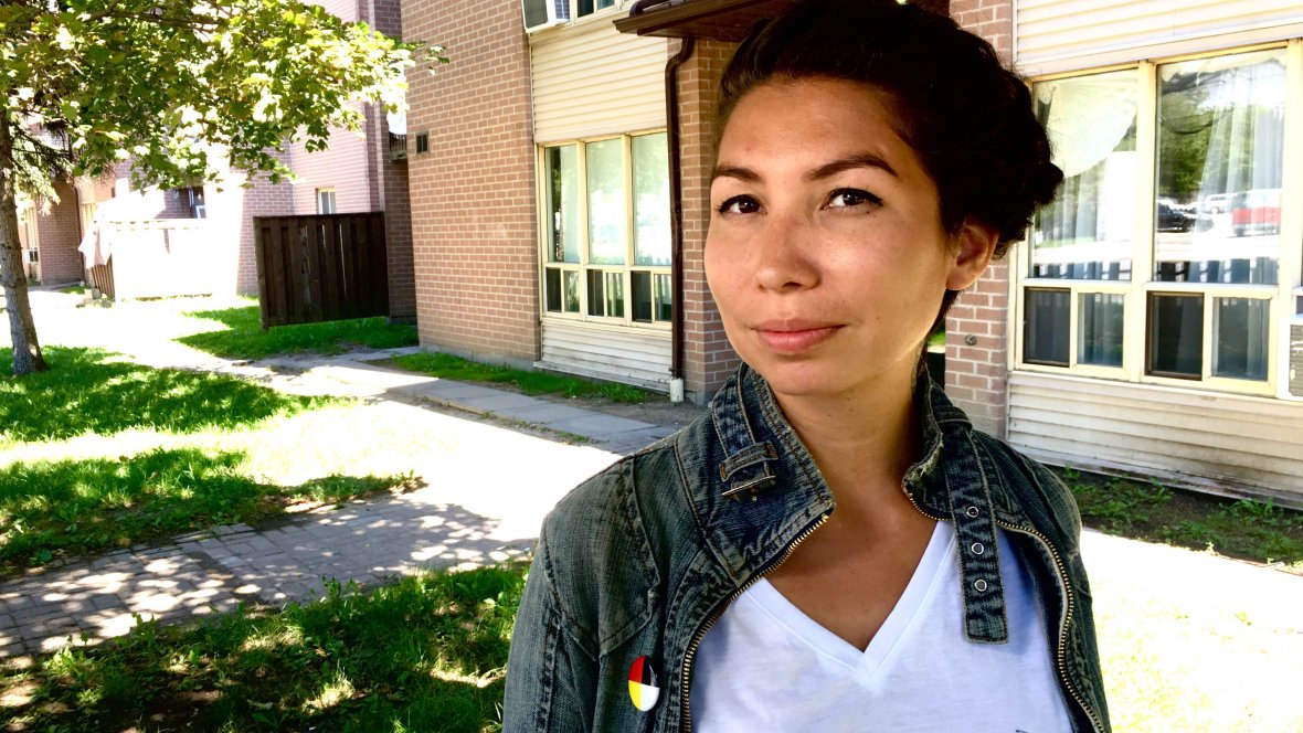 Sage Paul grew up in an Indigenous non-profit housing complex; today it fuels her art