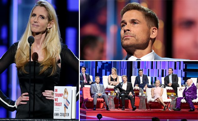 Ann Coulter gets obliterated at Rob Lowe's Comedy Central roast