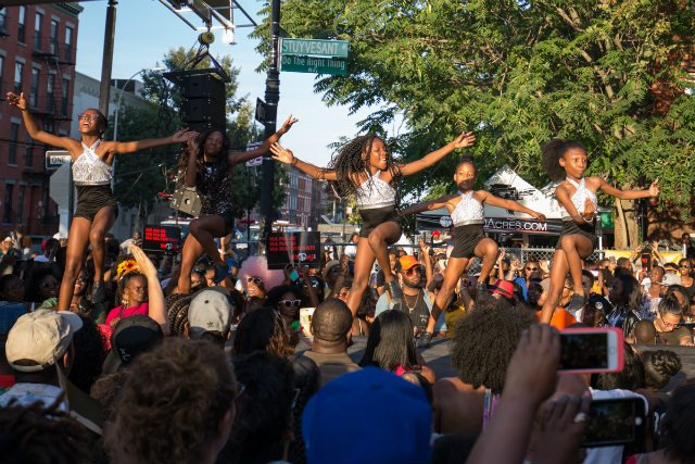 Spike Lee Celebrates Michael Jackson's Birthday With Bed-Stuy Block Party
