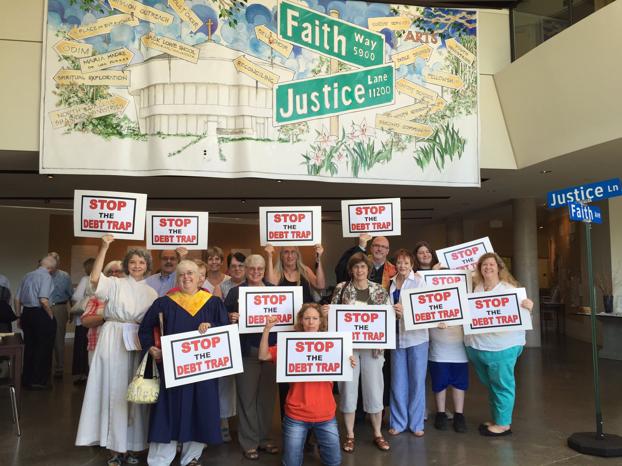 #FaithInTexas #StopTheDebtTrap @CFPB https://t.co/6ppQETI64d