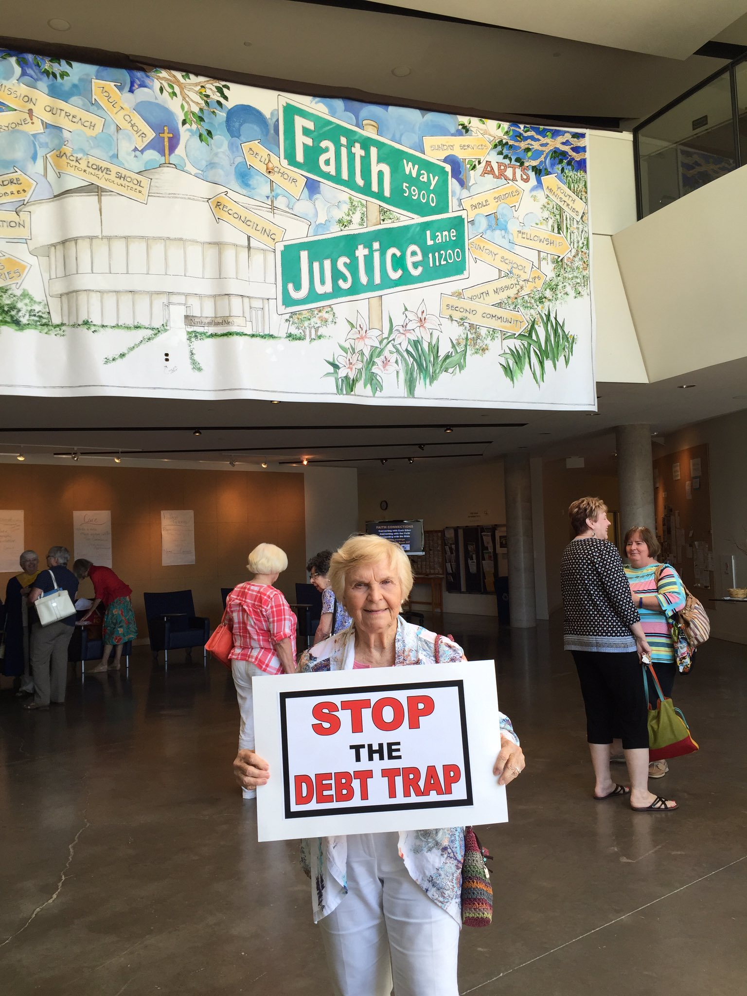 @CFPB #StopTheDebtTrap #StopTheDebtTrapSabbath #FaithInTexas https://t.co/N7yXndK0TH