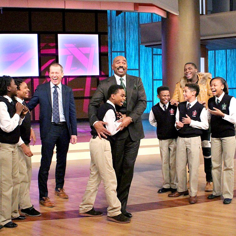 """Ron Clark On Twitter: """"Check Out The Steve Harvey Show On"""