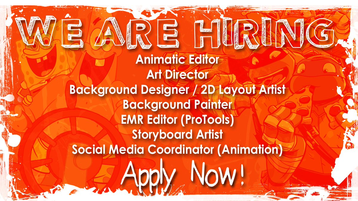 nick animation on we ve got a bunch of job openings nick animation on we ve got a bunch of job openings check them out t co gqx02kl3d4 jobs careers animation t co nln3u0xcsz
