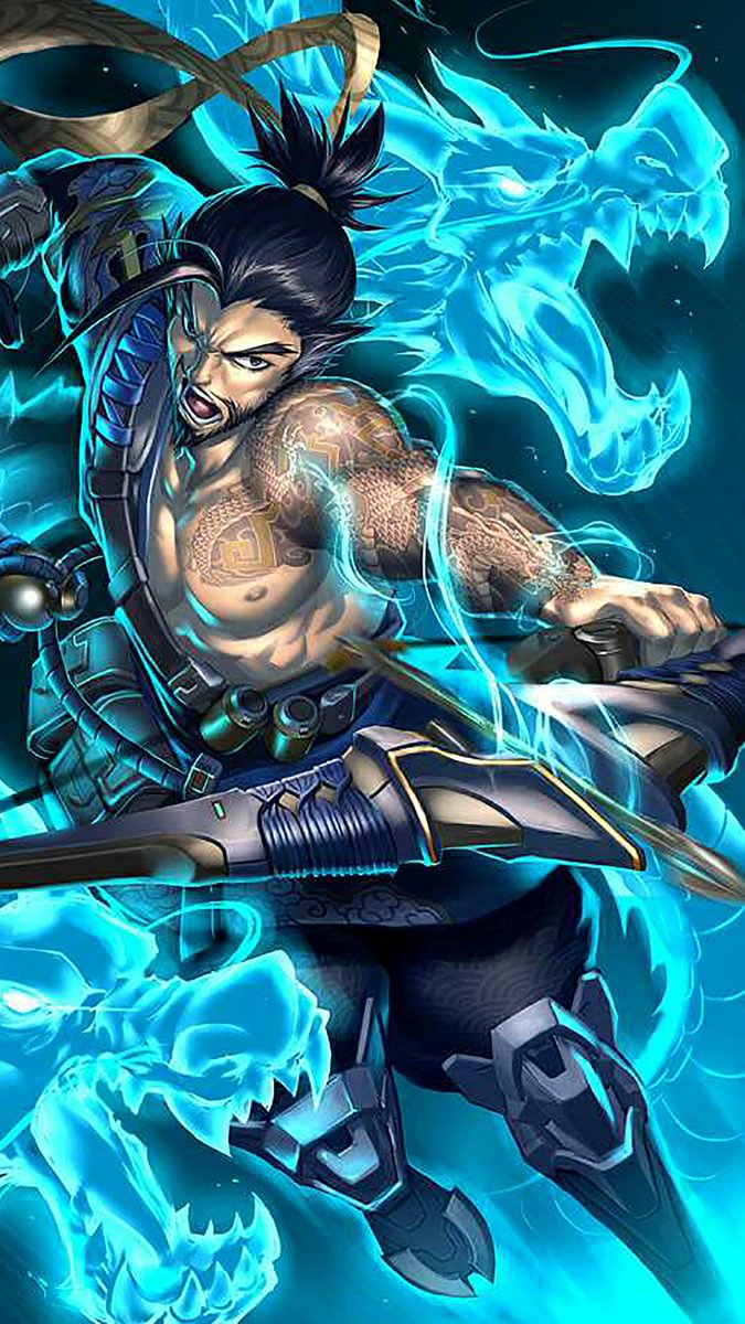 hanzo overwatch wallpaper iphone 31333 | enews