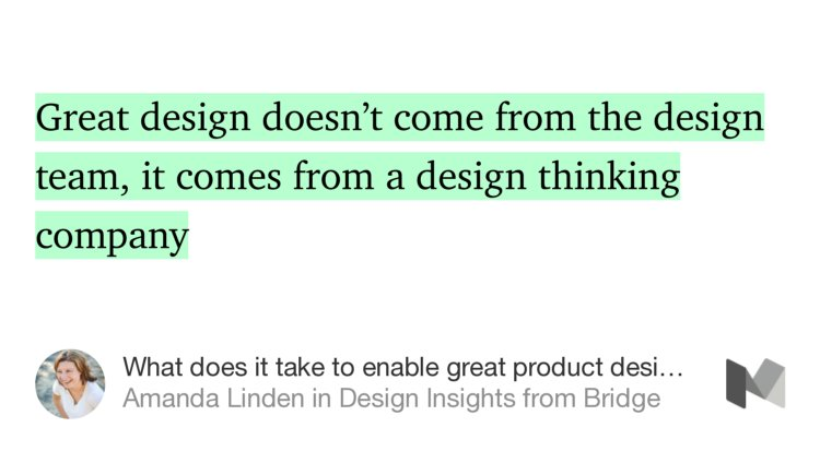 Great design doesn't just come from the design team @amandalinden @asana @designerbridge https://t.co/hX3qJmMXd2 https://t.co/kfVn5JWGqv