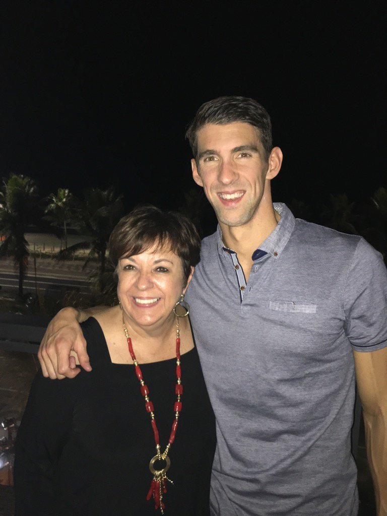 "Lesson learned from @MichaelPhelps ""YOU can't put a limit on anything. The more YOU dream, the further YOU get."" https://t.co/lxlCX8570t"