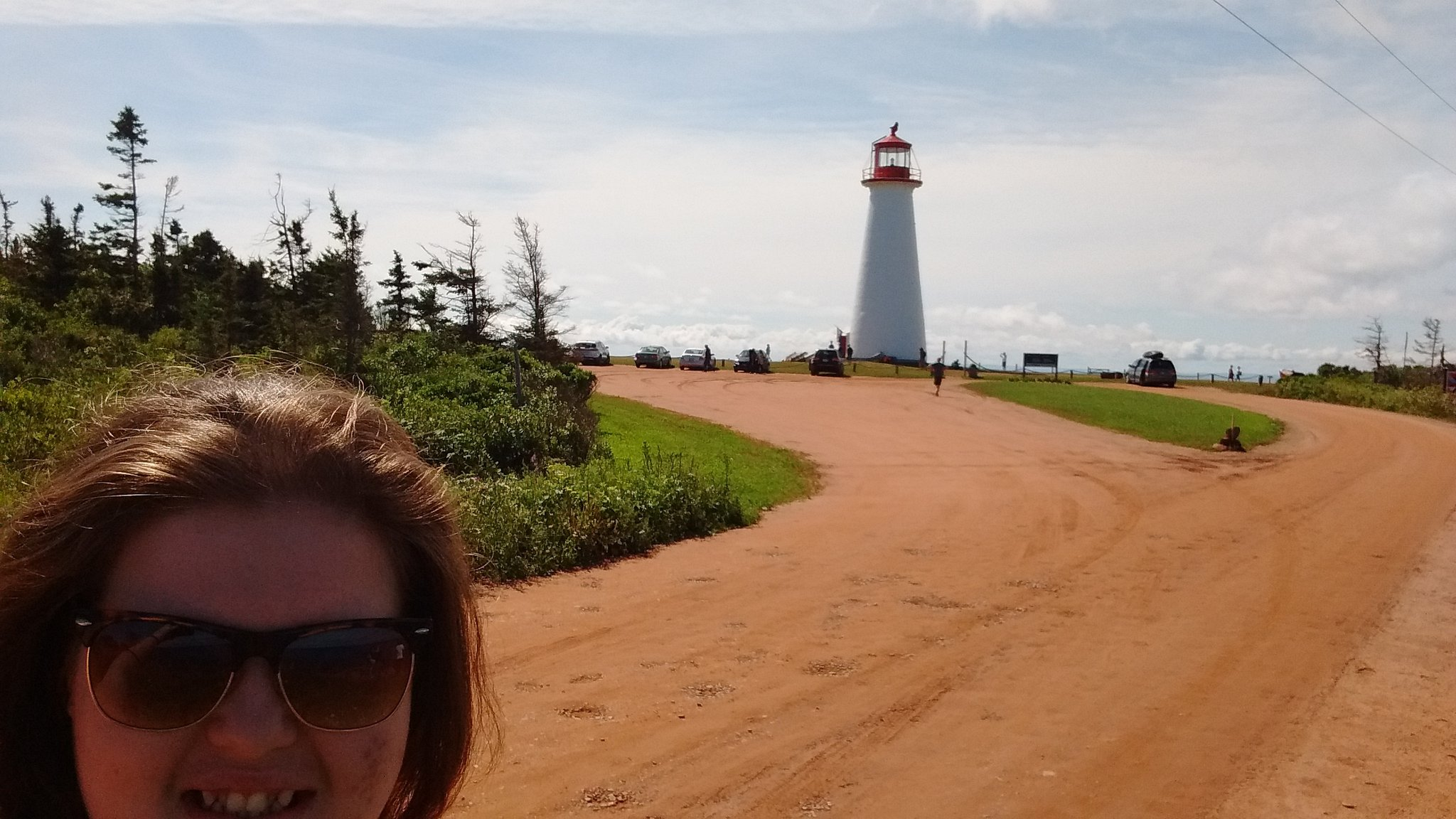 What another amazing beautiful day in PEI, so fun exploring and seeing everything #clay2016 #pointprim https://t.co/01e6wOOjAH