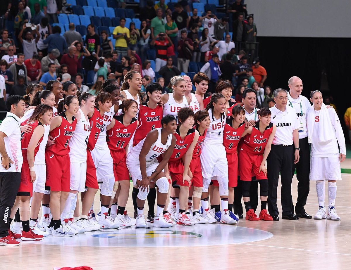 Such a tuff game tonight against Japan! They play so hard and they are an amazing team! Shout out to Japan