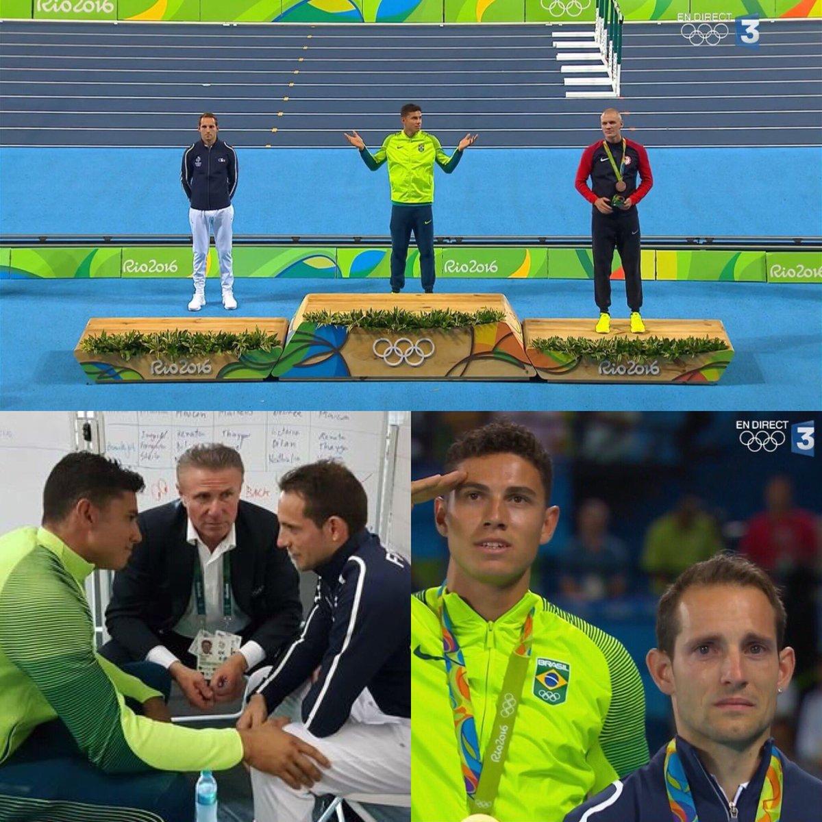 JJOO:Lo abuchearon y lloro en el podio.