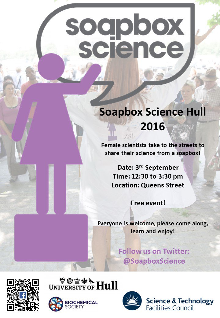 Excited about @SoapboxScience at @FreedomFestHull! Check out our speakers