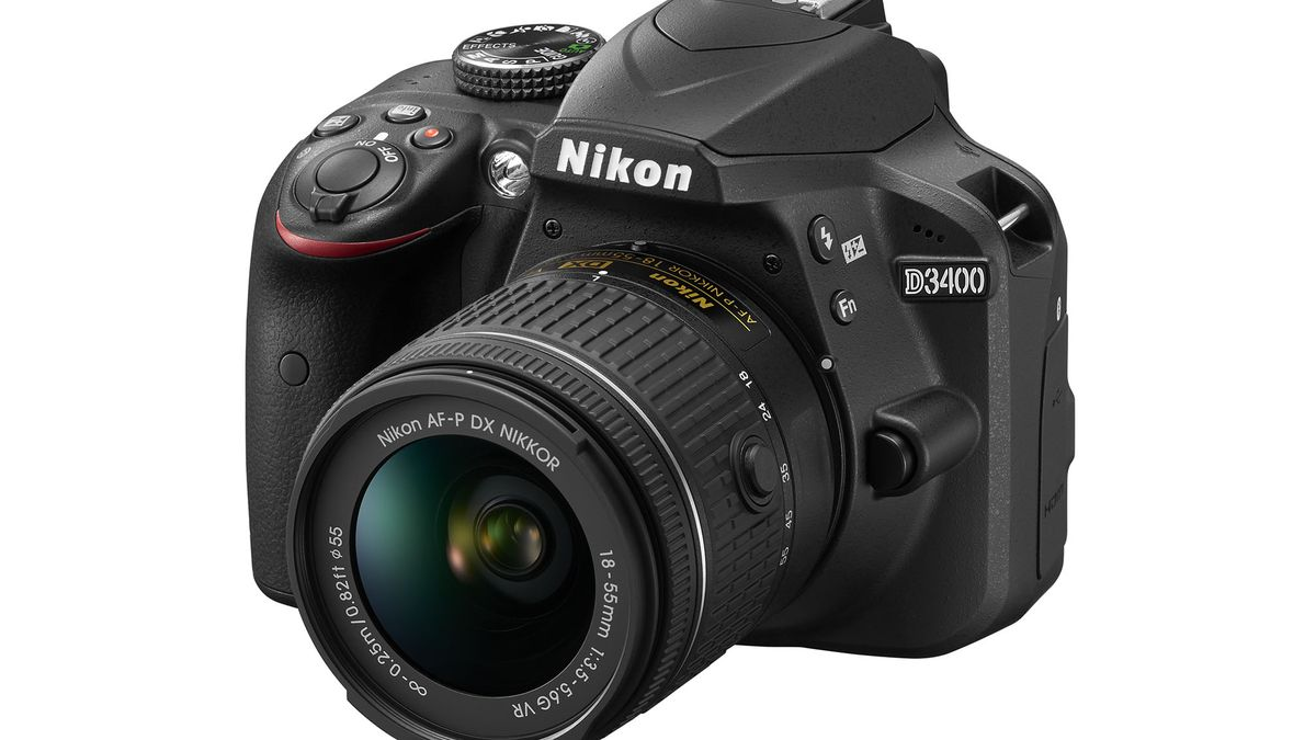 Nikon announces the D3400, its first entry-level DSLR with always-on Bluetooth