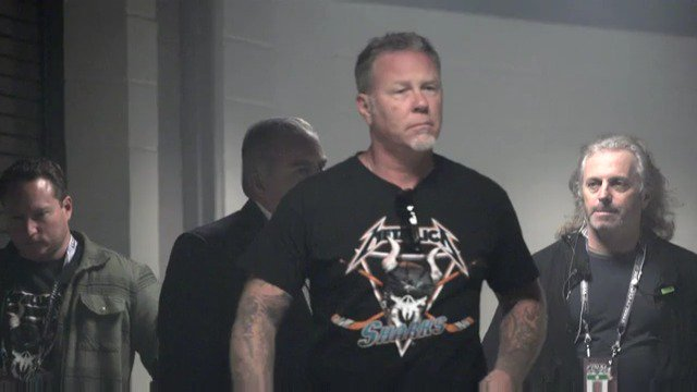 Happy birthday, James Hetfield! Hope your birthday rocks as much as you rocked the Tank.