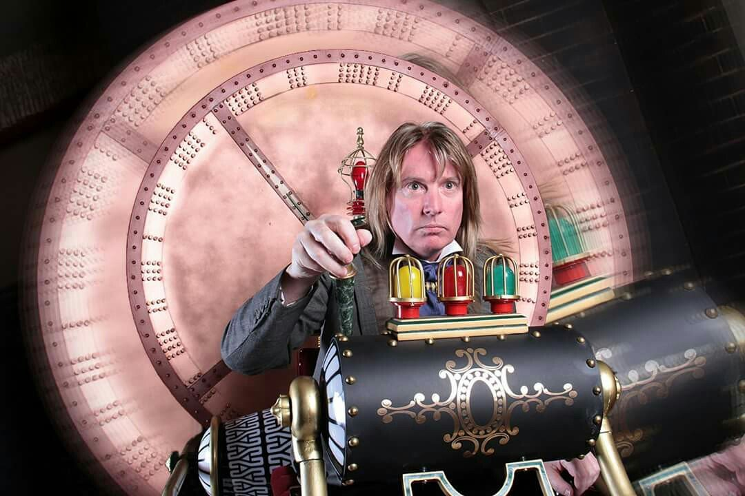 We're very excited to announce @MediaAttention_ are bringing their HG Wells #TimeMachine photo set to #Wyntercon.