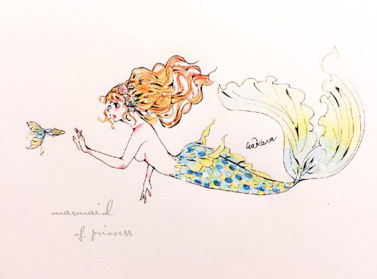 シノアリスファンアート 人魚姫 クリエイターへの直接発注で高品質な