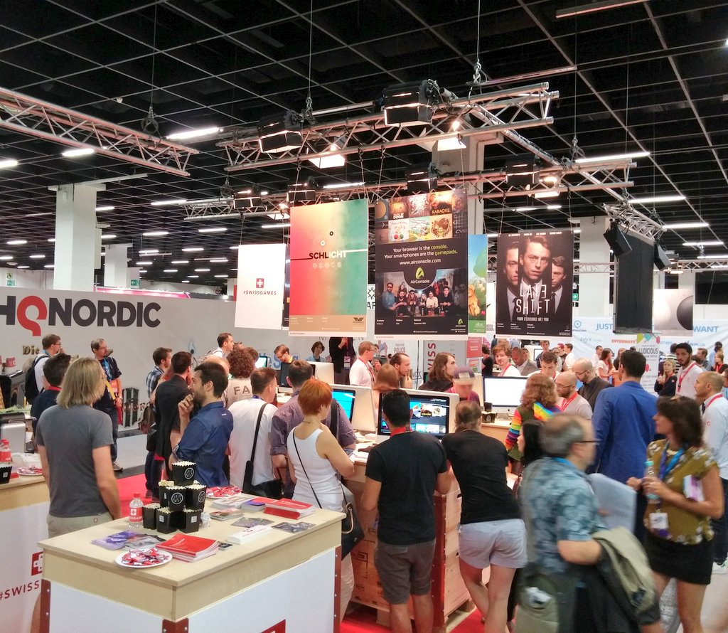 #SwissGames #gamescom2016 https://t.co/Ul67betnnr