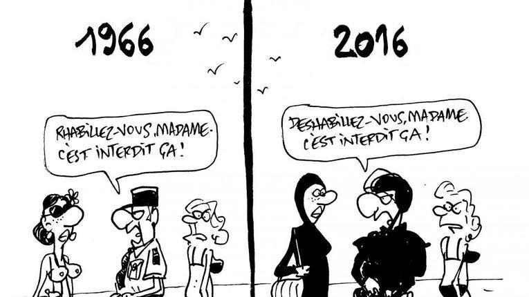 Vu de l'étranger • #Burkini : la France se trompe de combat https://t.co/Lt6hsg9UjN