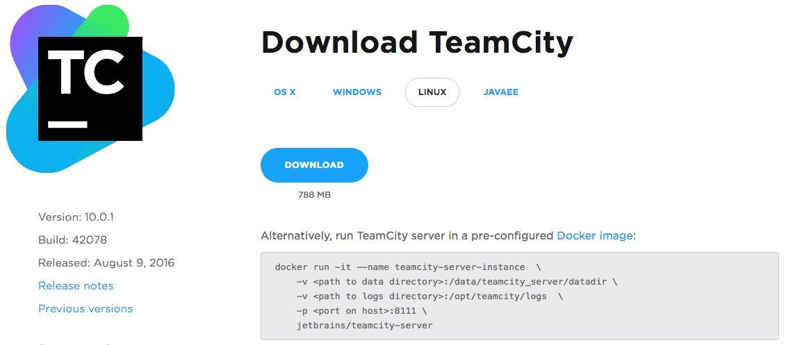 JetBrains TeamCity on Twitter: