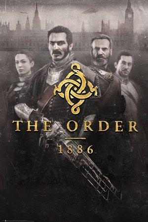 #steampunk https://t.co/OcfoyPeqHn GB eye The Order 1886 Key Art Maxi Poster, Multi-Colour