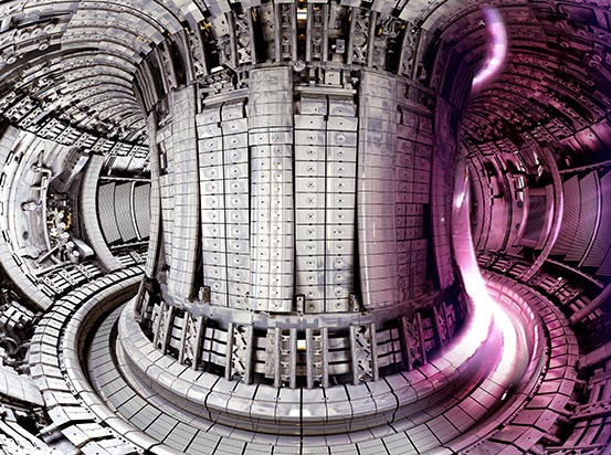It's not inside the #SamaAirship but inside a fusion reactor. More to come with @NewScientist #NSLive in September!