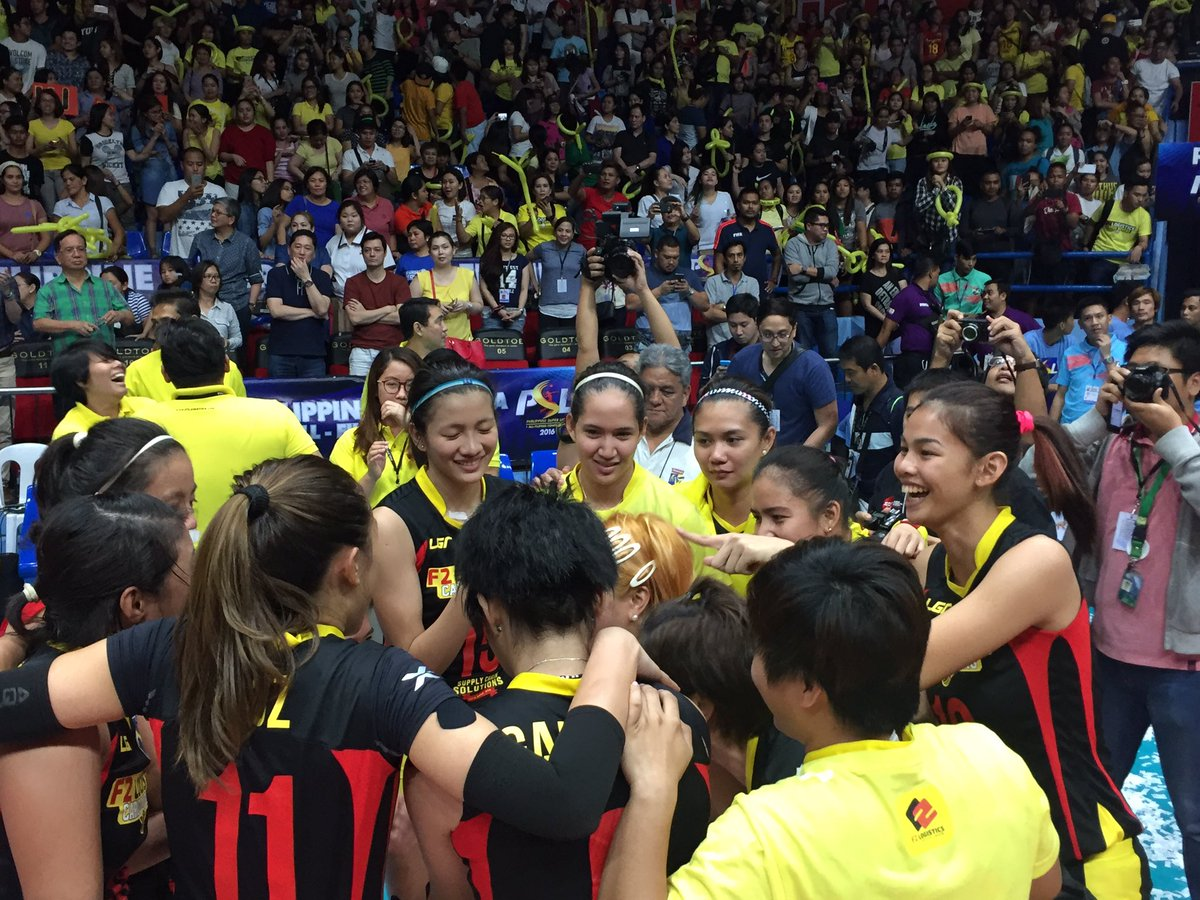 LOOK: F2 Logistics take home the championship! #PSLLastSquadStanding | @BLozadaINQ