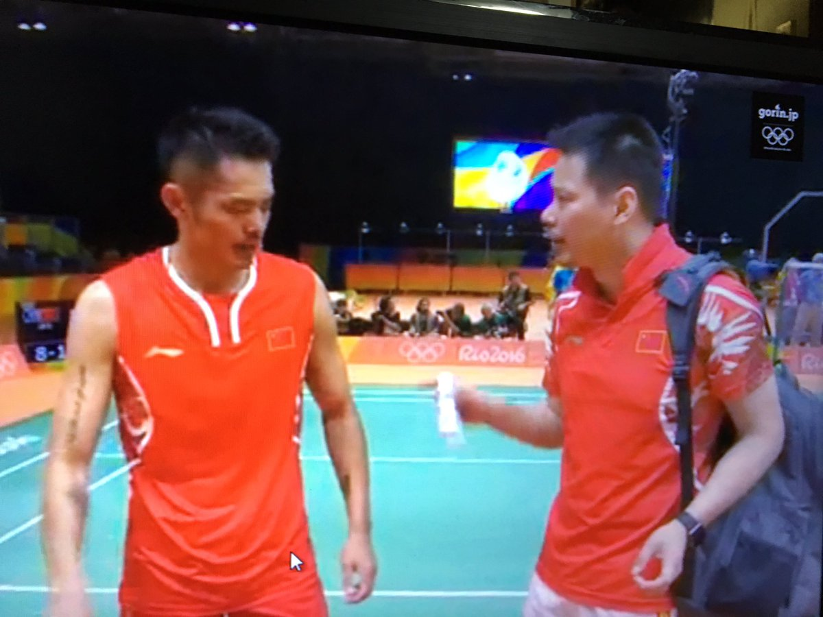 "The Nanas on Twitter ""Aku dah kata dah coach Lin Dan ni coach"
