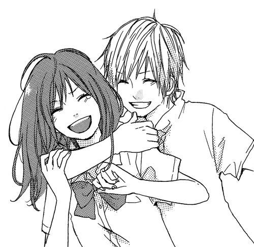 Shoujo on twitter mada amanogawa ni ikenai by morishita suu a collection of oneshots - Dessin manga couple ...