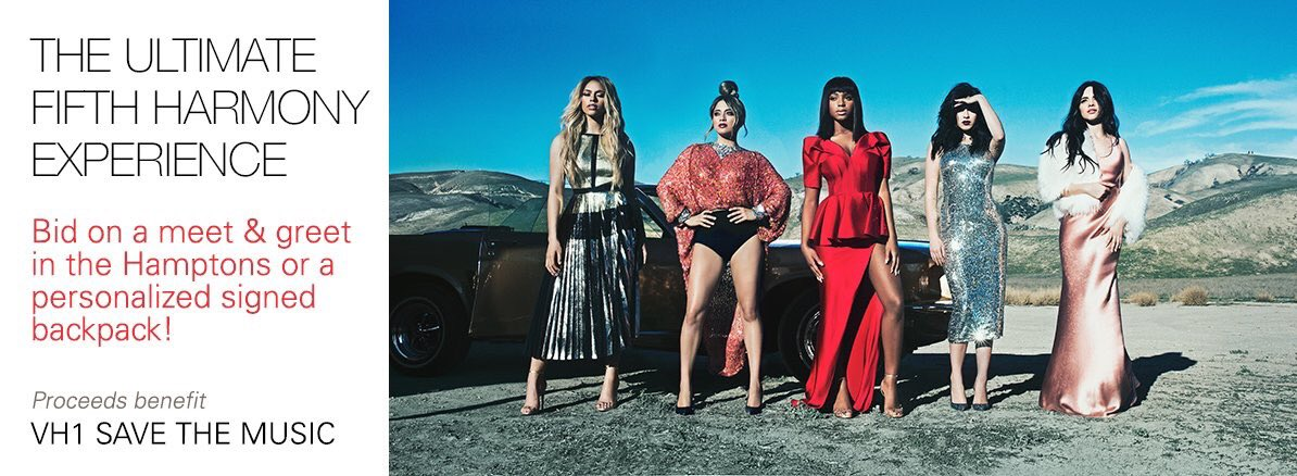 Last chance to bid on @eBay auction to win a VIP package & meet & greet w/ @FifthHarmony! https://t.co/4Qh8WXvnmY https://t.co/Hhtj9UoVWr