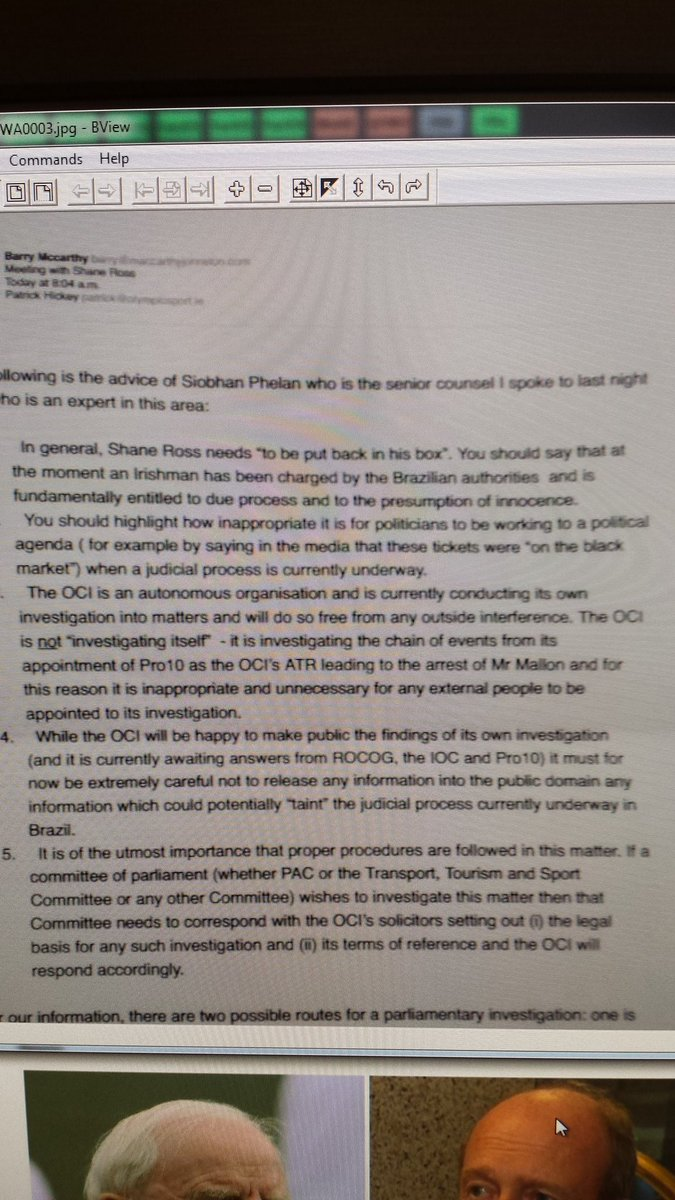 Here is email from Ire Olympic legal counsel to Hickey outlining plan to put sports min Shane Ross 'back in his box' https://t.co/dWYhMGLNZN
