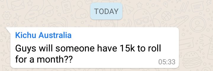 The easiest way to silence any extremely overactive Whatsapp group.  It's been 14 hours since the last ping. https://t.co/vYKM7wKVJk