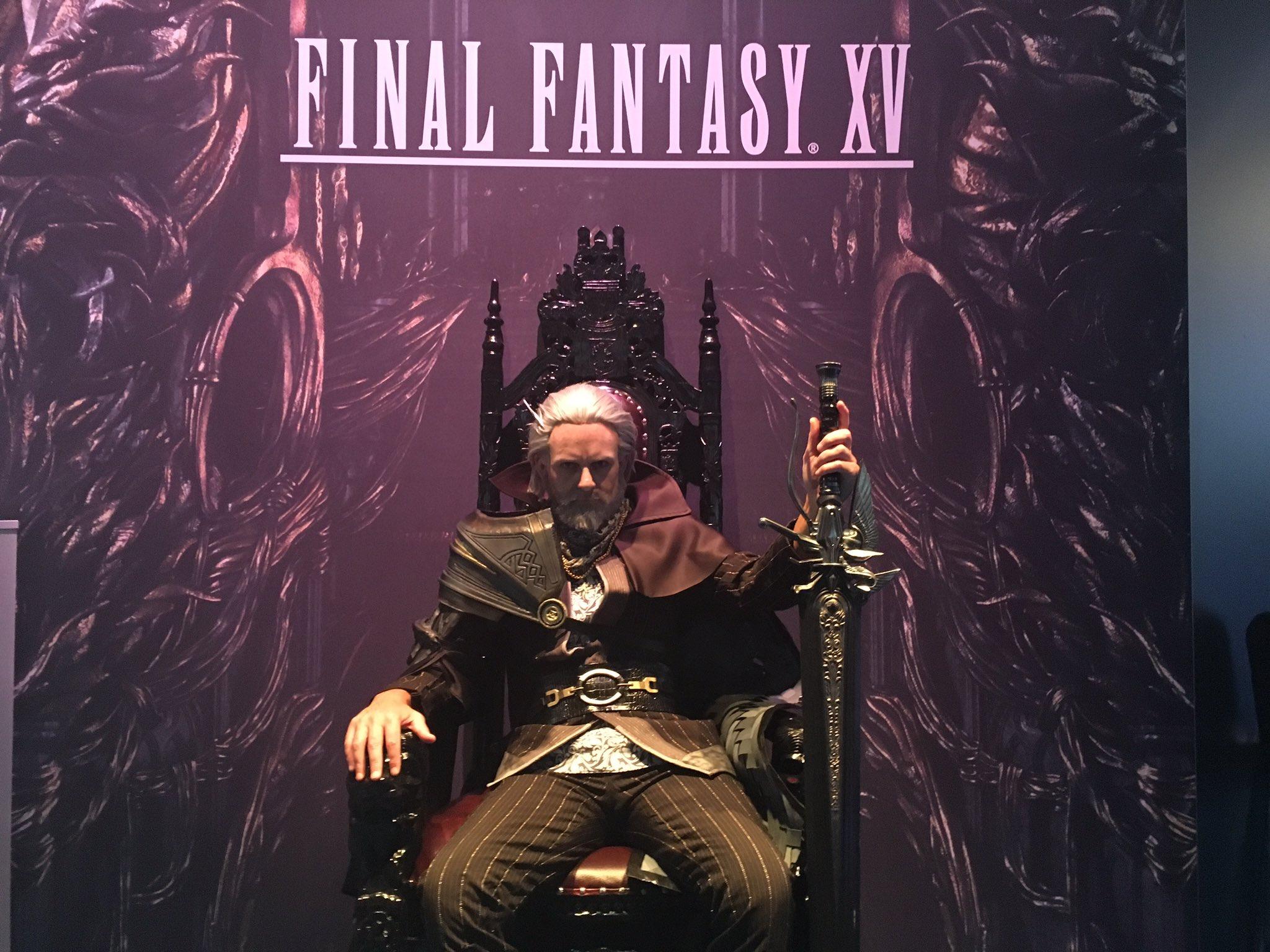 """Final Fantasy XV on Twitter: """"Hail King Regis #gamescom # ..."""