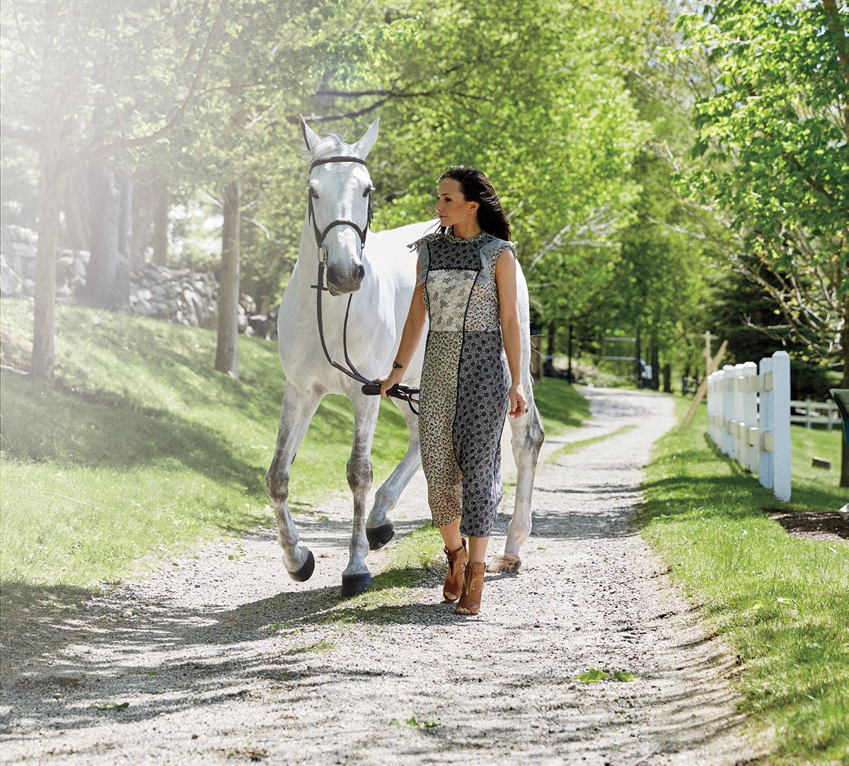 #GeorginaBloomberg on her equestrian career & why she's excited for the @HamptonClassic: https://t.co/2dmfuQJ7iz https://t.co/LibE5CO60m