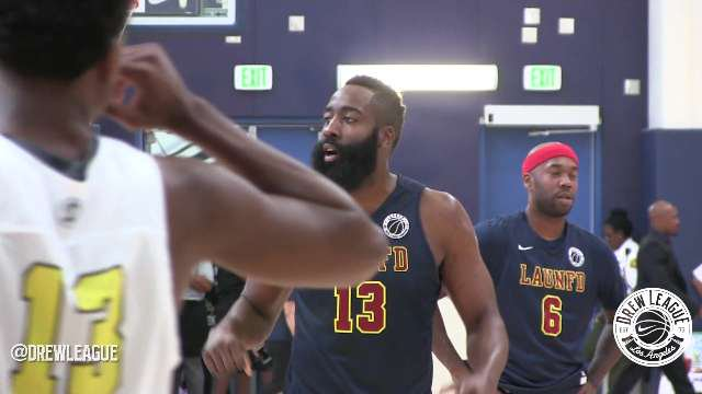 We've been waiting all summer to break out this mix! @JHarden13 is back at #TheDrew, playing with LAUNFD! https://t.co/MsJtE8YdJl